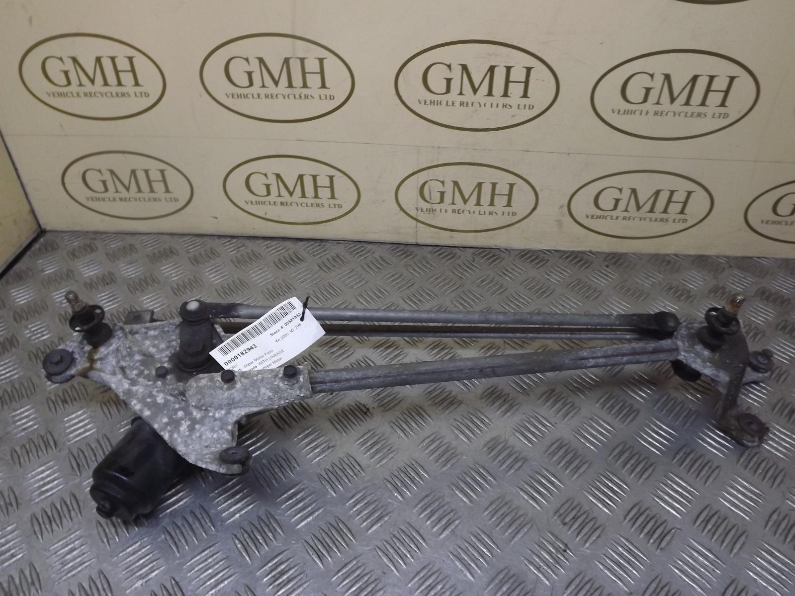 Honda Crv Front Wiper Motor With Linkage 2002 2007 Ebay